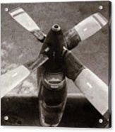 Dakota Airplane Propeller  Acrylic Print