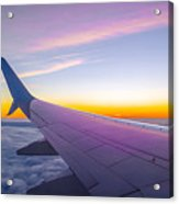 Airplane Window Acrylic Print