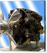 Airplanes Prop And Engine Acrylic Print