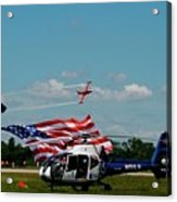 Airshow Opening Acrylic Print