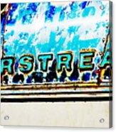 Airstream Acrylic Print