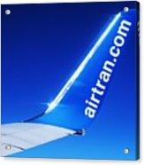 Collectible Airtran Wing Acrylic Print