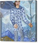 Airy King Of Wands Acrylic Print