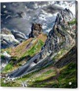 Aisa Valley Scenic Acrylic Print
