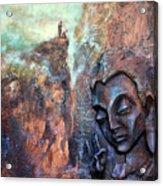 Ajanta Buddha Acrylic Print