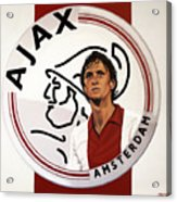 Ajax Amsterdam Painting Acrylic Print