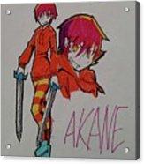 Akane Acrylic Print