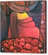 Akara Woman Acrylic Print