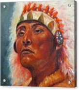 Akecheta, Native American Acrylic Print
