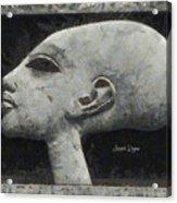Akhenaten Was Among Us Acrylic Print