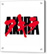 Akira Japan Anime Acrylic Print