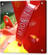 Akron Tractor Acrylic Print