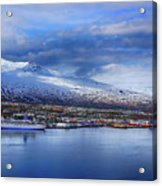 Akureyri Port Acrylic Print