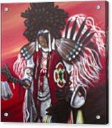 Akwesasne Mohawk Acrylic Print