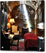Al Capone's Cell - Eastern State Penitentiary Acrylic Print by Bill Cannon