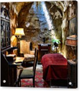 Al Capone's Cell - Scarface - Eastern State Penitentiary Acrylic Print