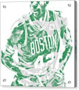 Al Horford Boston Celtics Pixel Art 6 Acrylic Print