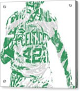 Al Horford Boston Celtics Pixel Art 7 Acrylic Print
