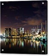 Ala Wai Boat Harbor Acrylic Print