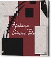 Alabama Crimson Tide Art Acrylic Print