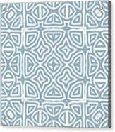 Alahambra Blue Acrylic Print