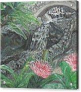 Alameda Gardens, Gibraltar Acrylic Print