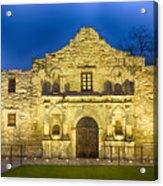 Alamo Dawn Acrylic Print
