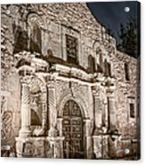 Alamo Door Acrylic Print