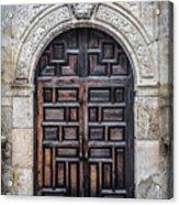 Alamo Doors Acrylic Print
