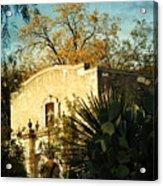 Alamo Mission Acrylic Print