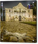 Alamo Reflection Acrylic Print