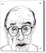 Alan Greenspan Acrylic Print