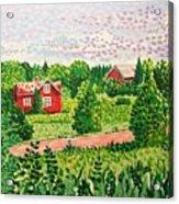 Aland Landscape Acrylic Print
