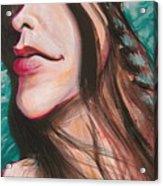 Alanis Morissette Acrylic Print