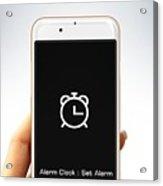 Alarm Clock Acrylic Print