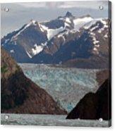 Alaska Blue Acrylic Print
