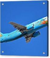 Alaska Boeing 737-490 N791as Tinker Bell Phoenix Sky Harbor January 12 2016 Acrylic Print