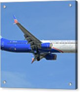 Alaska Boeing 737-900 N265ak Honoring Those Who Serve Phoenix Sky Harbor November 12 2017 Acrylic Print