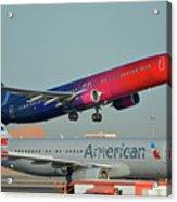 Alaska Boeing 737-900 N493as More To Love Phoenix Sky Harbor October 27 2017 Acrylic Print