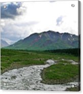 Alaska Denali National Park Landscape 1 Acrylic Print