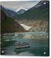 Alaska Endicott Glacier Acrylic Print