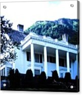 Alaska Governors Mansion Acrylic Print