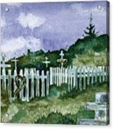 Alaska Graveyard  Acrylic Print