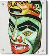Alaska Masks Acrylic Print