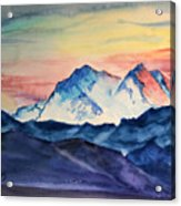 Alaska Mountain Acrylic Print