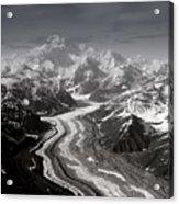 Alaska Range And Denali Acrylic Print