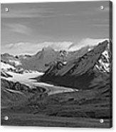 Alaska Range Center Panel Acrylic Print
