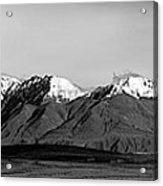 Alaska Range Left Panel Acrylic Print