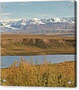 Alaska Range Acrylic Print