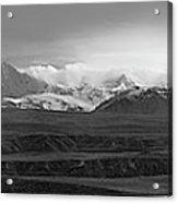 Alaska Range Right Panel Acrylic Print